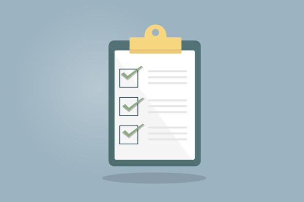 checklist intercâmbio